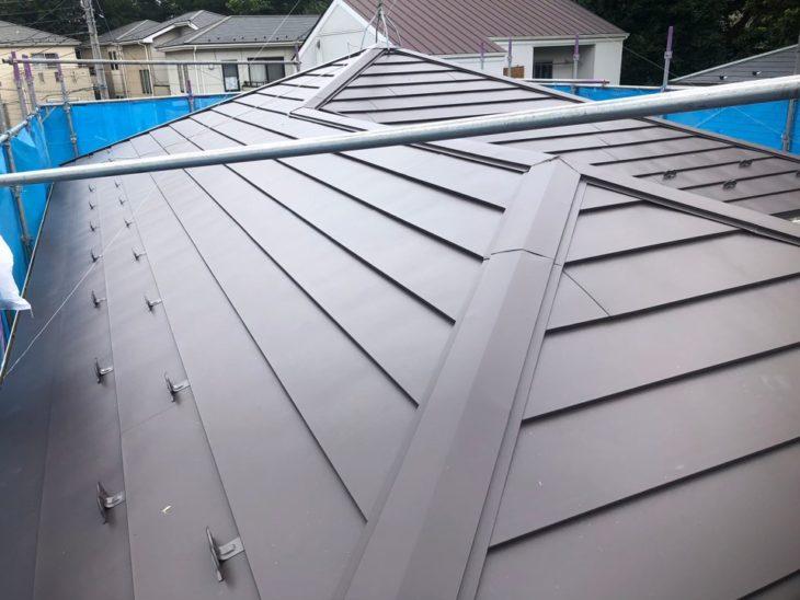 千葉県船橋市 M様邸 ガルバリウム鋼板カバー工法